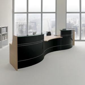 RECEPTION ufficio in legno