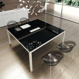 RYM tavolo riunioni in vetro