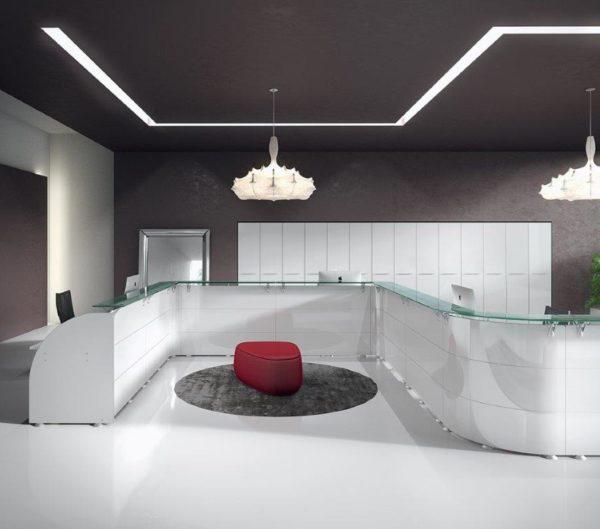 reception scrivania ufficio