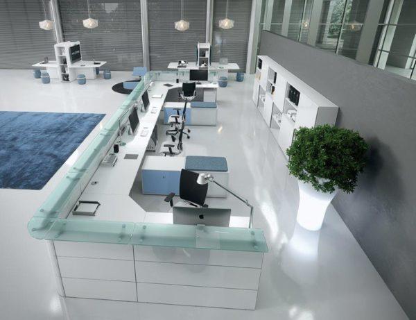 reception scrivania