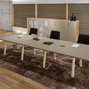 tavolo riunioni in legno meeting