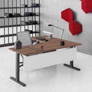 scrivania operativa in metallo