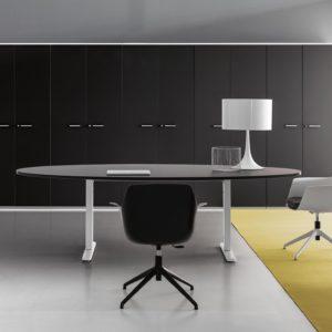 tavolo riunioni regolabile in altezza
