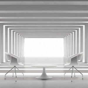 sedia Boheme in legno bianco