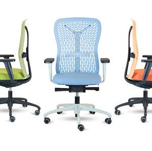poltrona ufficio operativa schienale ergonomico