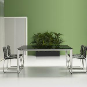 tavolo riunioni in vetro
