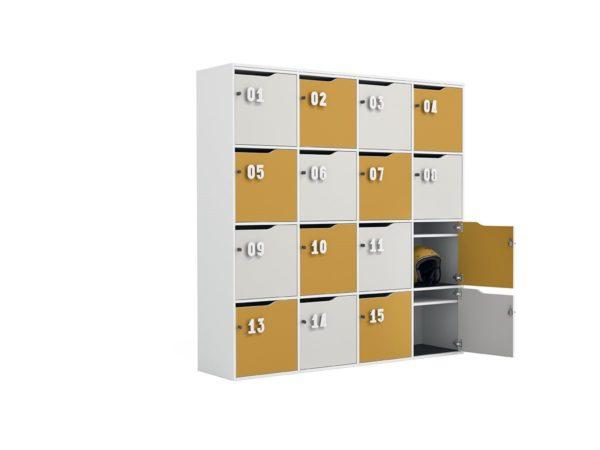 lockers in legno
