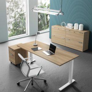 scrivania ufficio casa in legno