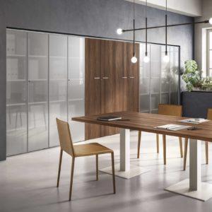 tavolo riunioni meeting in legno