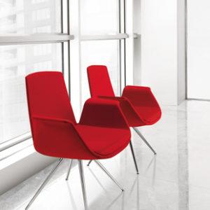poltrona poltroncina per riunioni per visitatori design