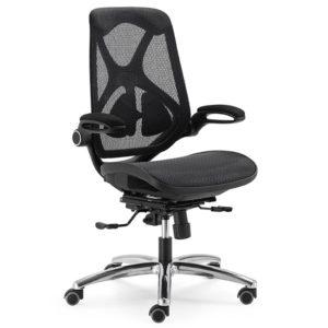 poltrona ergonomica in rete per ufficio e casa