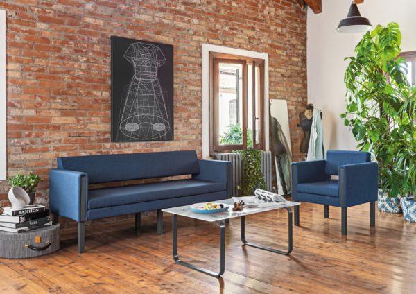 divanetto divano attesa per casa per ufficio