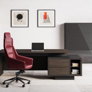 ELITE scrivania direzionale in legno economica
